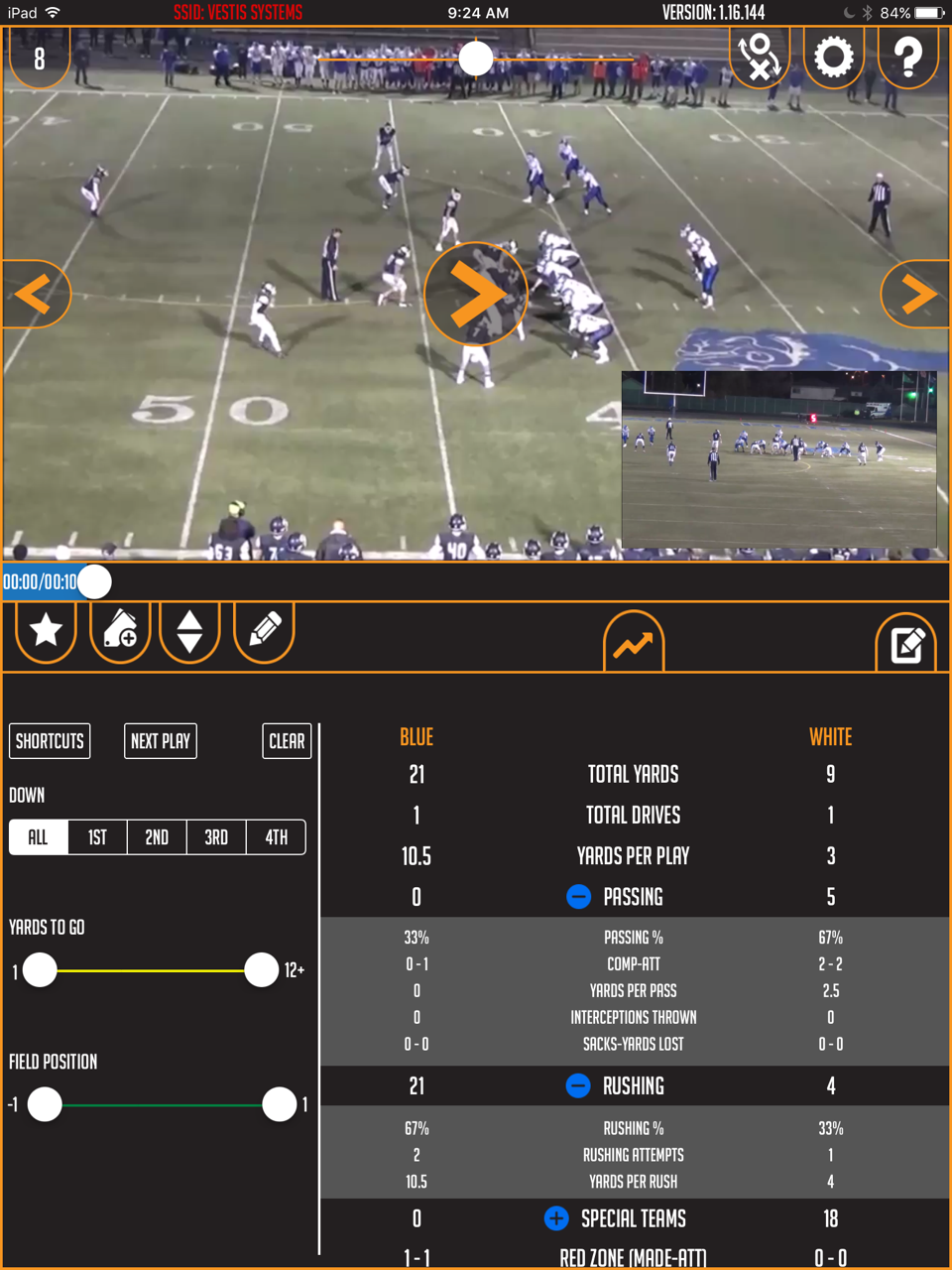 EDGE App Features Take Your Football Team to the Next Level