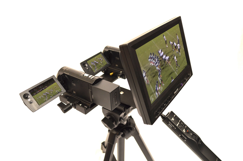 Dual Pressbox Tripod Endzone Camera