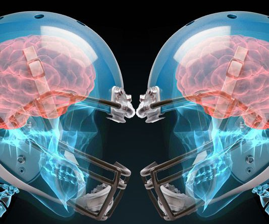 brain damage in football players