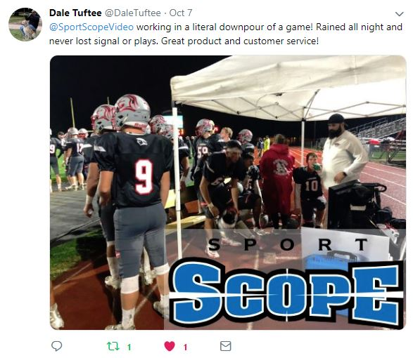 Testimonials For The Reliability Of Sport Scope Endzone